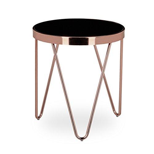 relaxdays-beistelltisch-copper-aus-kupfer-und-schwarzglas-klein-hbt-ca-46-x-42-x-42-cm-glas-couchtis