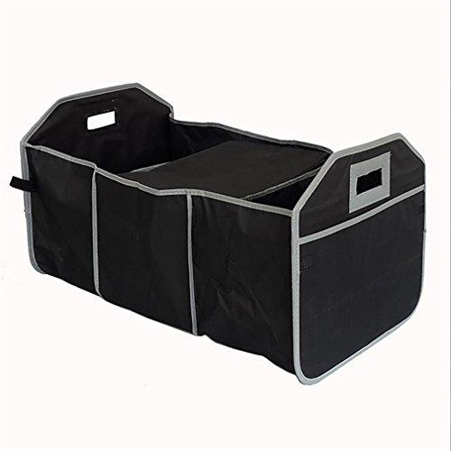 Front Cargo (WJJ-Car Trunk Organizer Kühler Lagerung für Auto Front & Back Sitz, zusammenklappbar - Hold Vehicle Cargo Secure und Prevent Sliding - Spielzeug, Lebensmittelgeschäft oder Office Automotive Carrier Tote)