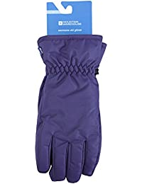 Mountain Warehouse Womens Ski Gloves - Snowproof, Textured Palm With Adjustable Cuffs, Insulated & Fleece Lined- Ideal For Snowboarding & Skiing