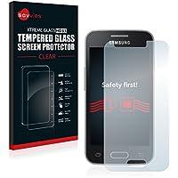 Samsung Galaxy Trend II Lite Cristal Vidrio Templado [1 Pack] - Savvies Protector Pantalla - Dureza 9H