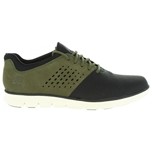 Timberland Bradstreet Fabric and Leather Sensorflex, Zapatos de Cordones Oxford Para Hombre Timberland