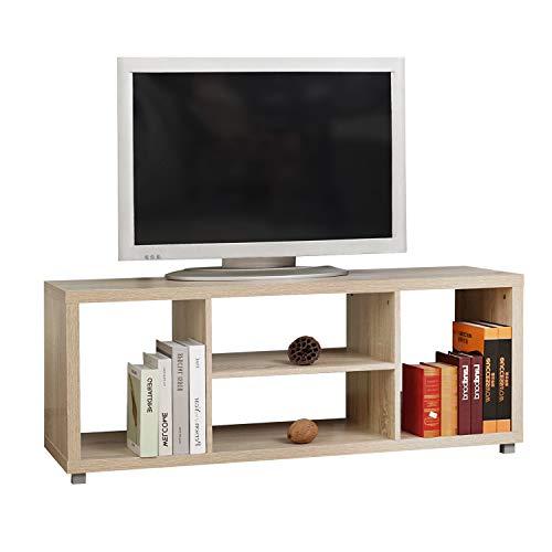 Sogesfurniture mobile porta tv per casa porta tv per ufficio legno cslh104-50m-bh