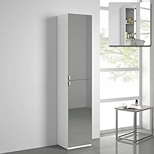 tall bathroom mirror cabinet 1700mm bathroom mirror cabinet reversible cupboard 20751