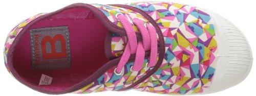 Bensimon Tennis Liberty, Baskets mode mixte enfant Rose (Kaleidoscope 6090)