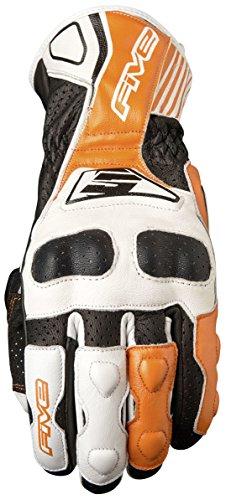 Fünf Advanced Handschuhe rfx4Replica Erwachsene Handschuhe, Weiß/Orange, Größe (Erwachsenen Handschuhe Super Wolf)