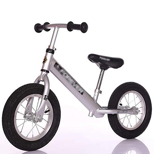 Balance Bikes, Push Bike, Leichtes Trainingsfahrrad ohne Pedal, Verstellbarer Sitz und Lenker Schritt zu Fuß Fahrrad, für 2 bis 6 Jahre alte Jungen Mädchen Geburtstagsgeschenk ZHAOFENGMING