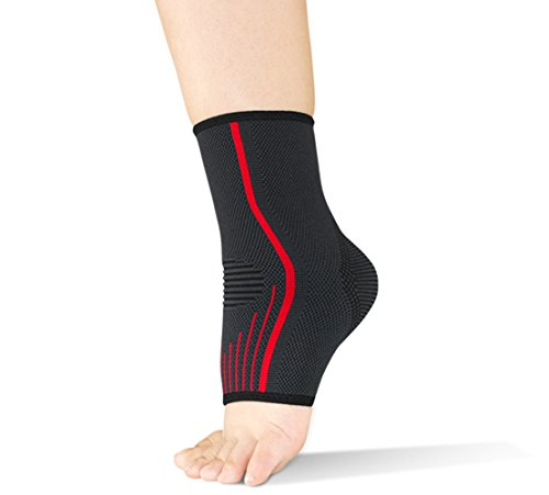 Knöchel-brace Brace (Ankle Support, Oliked Quality Adjustable and Breathable Ankle Brace with Fully-Customized Strapping)