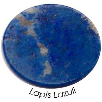 Quoins qmn-M-Piastra con pietre LP moneta Coins Precious Medium Blu Lapis