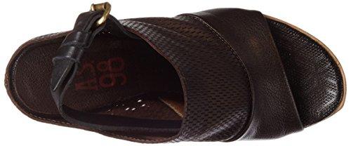A.S.98 957004-101, Scarpe con Tacco Donna Braun (choco/choco/Nero/choco/choco)