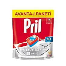 Pril Hepsi Bir Arada Extra, 70 Tablet