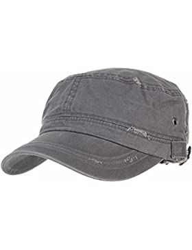 WITHMOONS US estilo del ejército Gorras de béisbol Camuflaje Cadet Cap Cotton Vintage Distressed Washed Hat CR4267
