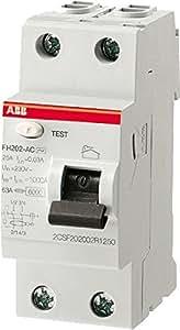 ABB 443151GSB Interrupteur différentiel bipolaire Type A 40 A