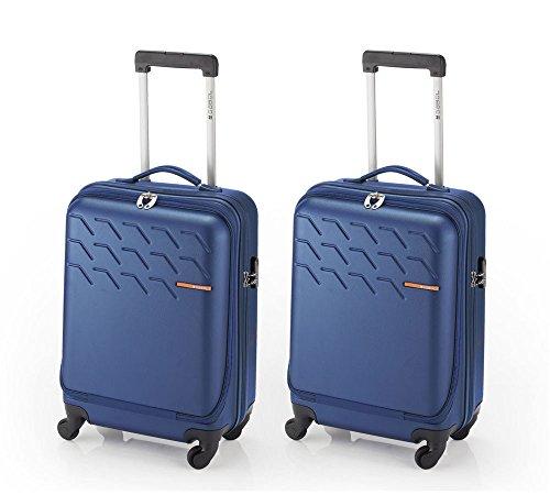 Gabol route juego de 2 maletas de cabina 31 litros