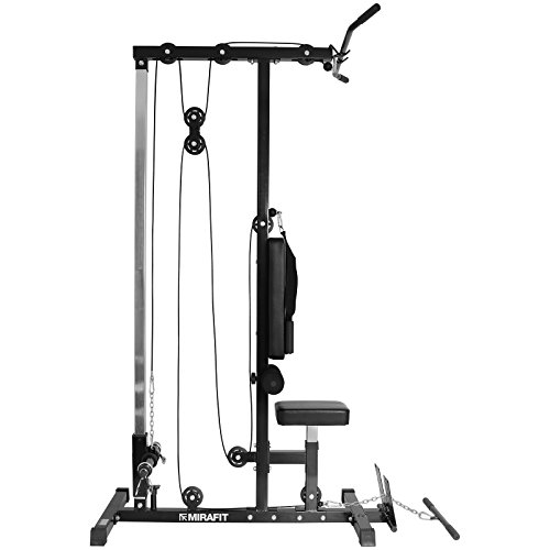 Bowflex Revolution Seated Lat Row: Mirafit Multi Gym Lat Pull Down Machine