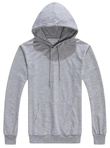 EKU FASHION Herren Kapuzenpullover Small Gr. M, grau Browning-camo Sweatshirt