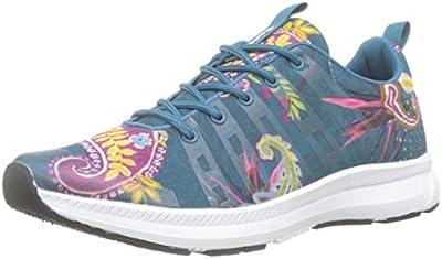 Desigual Runner Ethnic, Zapatillas para Mujer, Azul (Polar Blue 5049),