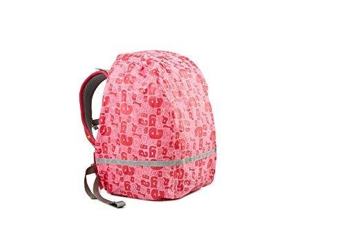 Ergobag Zubehör und Accessoires Rucksack-Regenüberzug Regencape 963 pink