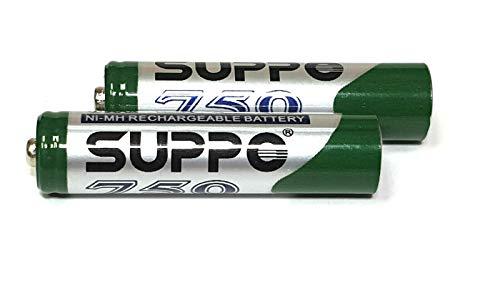 2X Gigaset Wiederaufladbare Akku Original Suppo 750 mAh für Gigaset Mobilteile 2 X Akku-pack