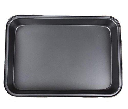 Padella antiaderente Grill Pan rettangolo nero medio acqua pesce pollo teglia