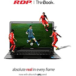 RDP 1130-EC1 11.6-inch HD IPS Panel ThinBook(Intel Quad Core 1.92 GHz Processor/2GB/32GB/Windows 10) with 10.5 Hours Battery Backup