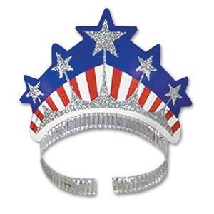 USA 4th July Miss Liberty Tiara