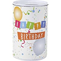 Blech Spardose mit Spruch 6x10,2 cm (Happy Birthday) preisvergleich bei kinderzimmerdekopreise.eu