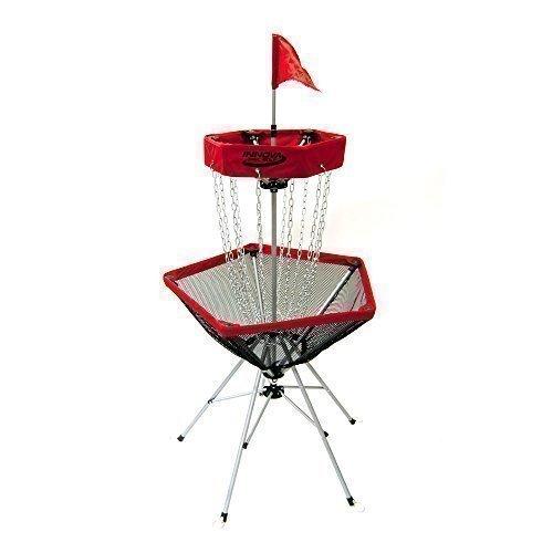 INNOVA Discgolf Ziel mobiler Frisbee Korb DisCatcher Traveler (ROT) -