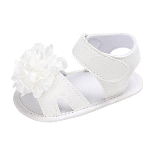 Pattini appena nati dei sandali del bambino della neonata del bambino della neonata dei bambini (età: 12 ~ 18 mesi, bicanca 2)
