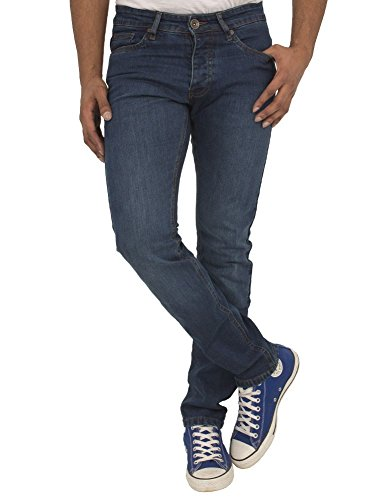 Ze ENZO Enzo Mens High Quality Skinny Slim Fit Stretch Denim Retro Jeans Pants Trousers