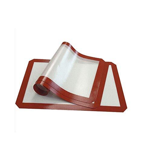 YILAITE Alfombrilla de Silicona para Hornear - Juego de 3, Forro de Silicona Antiadherente para moldes...