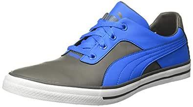 Puma Men's Slyde Knit MU IDP Grey Sneakers-6 UK (39 EU) (7 US) (37197701_a)