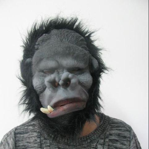Kostüm King Kong - shoperama Gorilla Maske Karneval King Kong Kostüm
