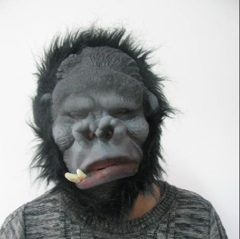 shoperama Gorilla Maske Karneval King Kong Kostüm (King Kong Kostüm Kind)