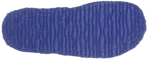 Giesswein Aichach Unisex-Kinder Flache Hausschuhe Blau (528 / dunkle jeans)