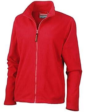 Resultado R115F La para mujer forro polar, Liso, Unisex, color Cardinal Red, tamaño Medium