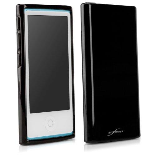 BoxWave Tuxedo suitup Apple iPod Nano (7. Generation) Fall-Hohe Qualität Schwarz glänzend TPU Gel Haut Case, perfekt geformt für das Apple iPod Nano (7. Generation)-Apple iPod nano (7. Generation) Schutzhüllen und Hartschalen Hhi Ipod