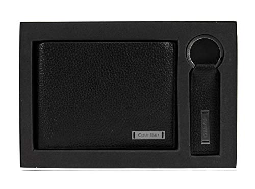 Calvin Klein Pebble W Plaque Giftbox Black