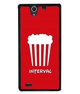 PrintVisa Designer Back Case Cover for Sony Xperia C4 Dual :: Sony Xperia C4 Dual E5333 E5343 E5363 (White Concept Design Backcover Illustration)
