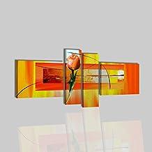 Amazon.it: quadro moderno arancione