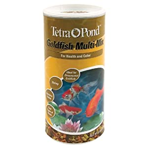 Tetra Pond 4.9 Oz Multi-Mix Pond Gold Fish Food 16364 - Pack of 12 from Tetra