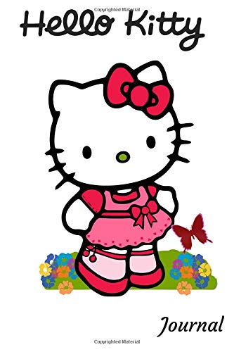 Journal: A 50 Page Hello Kitty Themed Colorful Diary and Notebook - Hello Teen Kitty