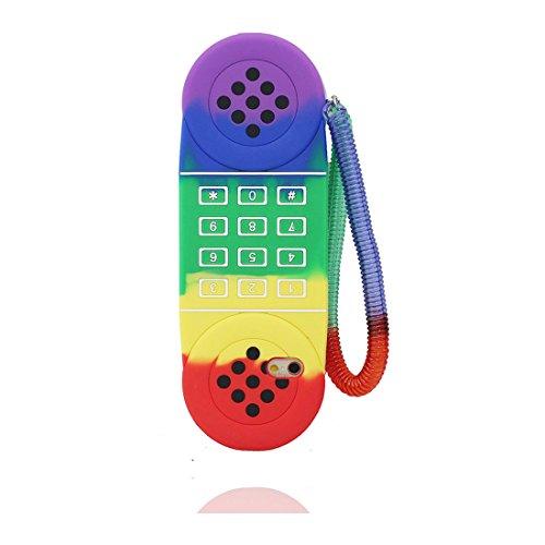 Custodia per iPhone 6 Plus (5.5), [ TPU materiale flessibile anatra, duck ] elegante Case per iPhone 6s Plus (5.5), Polvere di scorrimento, durevole Copertura colore 4