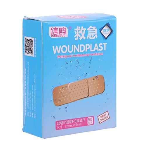 Longsw 50Pcs Klebeband Hämostase Erste Hilfe Disposable Wunde Plaster Medical -