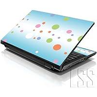 "'LSS 1010.2pulgadas Laptop Notebook Skin Carcasa adhesivo Decal apta para 7""8"" 8.9""10"" 10.2HP Dell Apple Lenovo Asus Acer Compaq (2pegatinas menos muñecas Incluye gartuitamente) Colorful Dots"