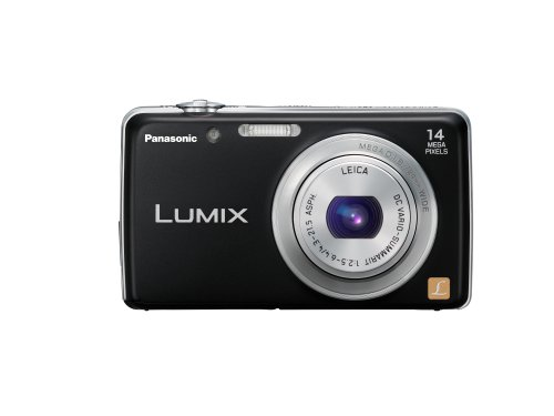 Panasonic Lumix DMC-FH6 14.1 MP Point and Shoot Camera (Black) with 5x Optical Zoom  available at amazon for Rs.27550