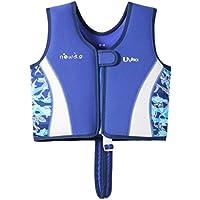 Kinder Weste Schwimmen - Schwimmende Badebekleidung für Jungen Mädchen Schwimmanzug Bequeme Schwimmjacke Schnorcheln Anzug Schwimmbad Strand