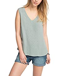 edc by ESPRIT Damen Bluse 056cc1f010 - mit Stickerei
