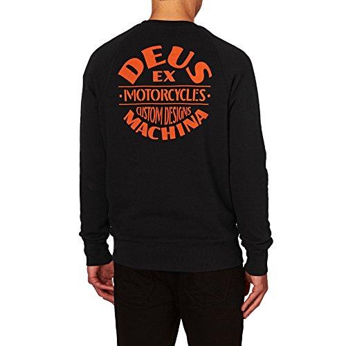 Deus Ex Machina Felpe-Deus EX machina Flame Crew felpa-Black Black M
