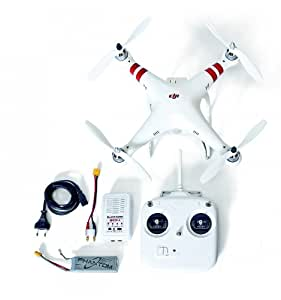 PACK Pro Drone Phantom RTF MODE 2 DJI + Batterie supplémentaire + Hélices X2