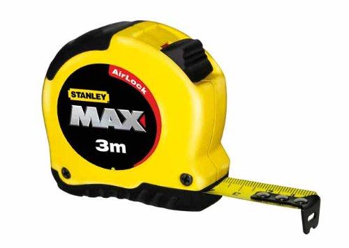 Stanley 0-33-918 Flessometro professionale 3m, rivetto magnetico AirLock